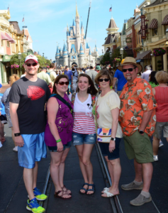 2016 Family at Disney World