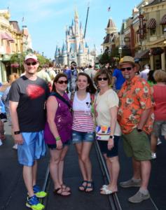 2016 Family at Disney World